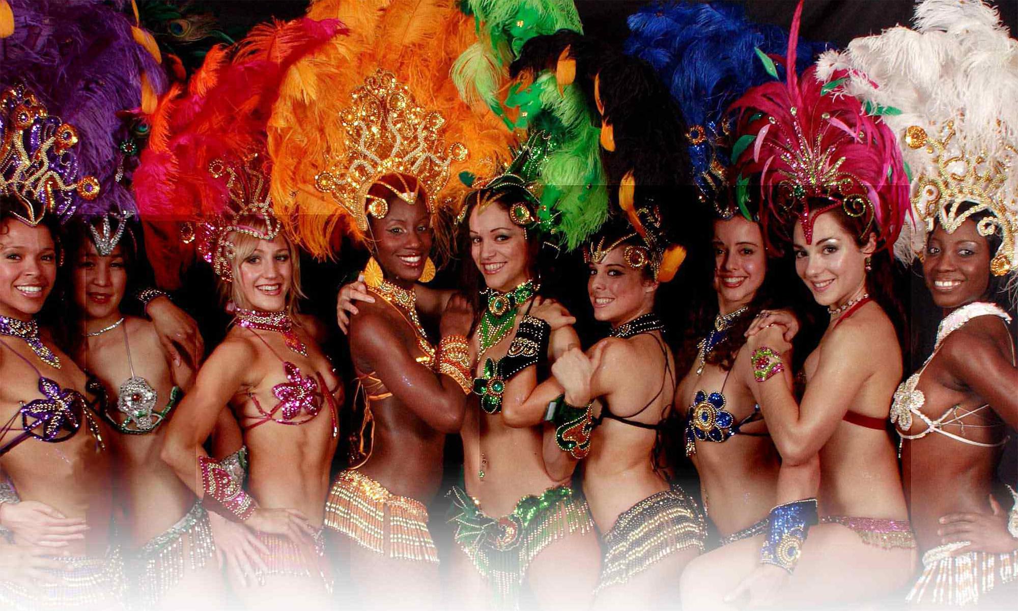 бразильские девушки фото карнавал
