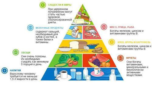 пирамида еды фото