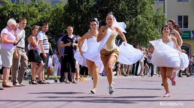 свадебный марафон фото