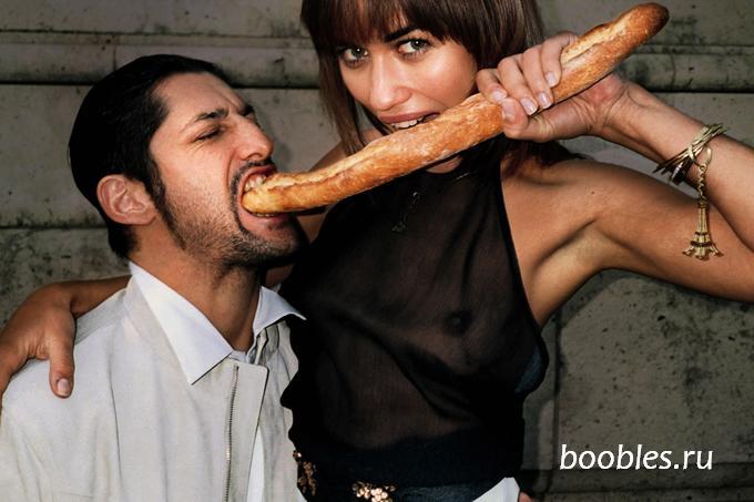 Совместный прием пищи мужчины и женщины