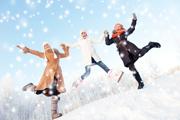 зимние развлечения фото