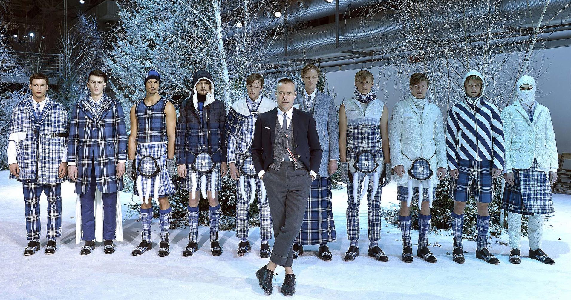 зимняя мода для мужчин фото