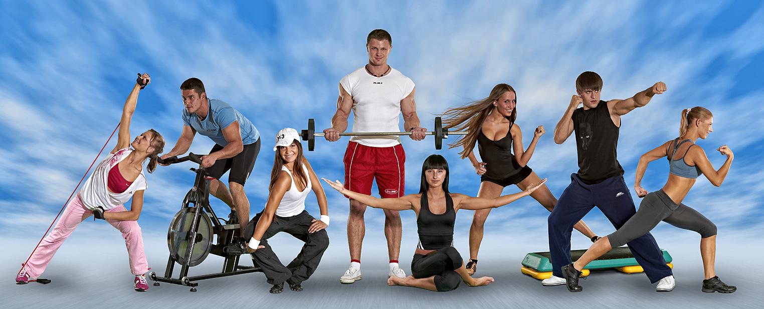 фото со спортсменами