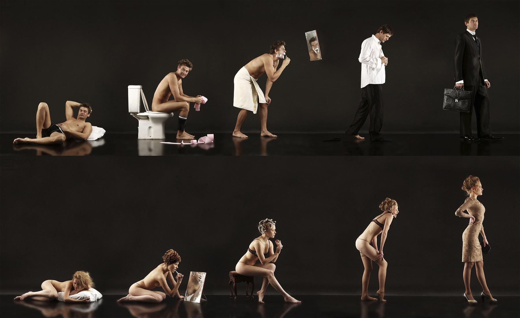 мужчины и женщины фото
