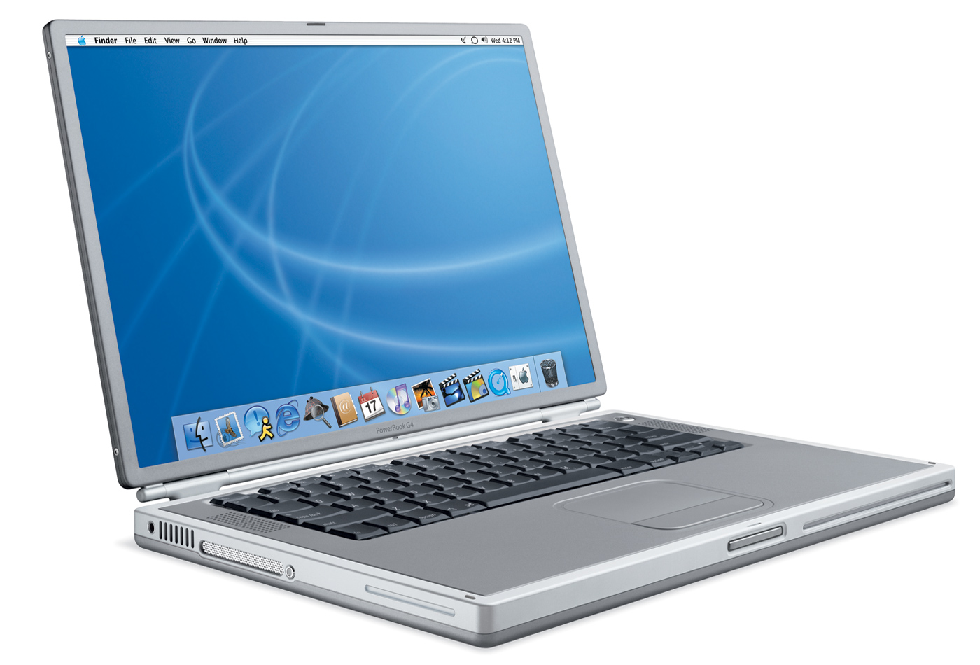 Apple PowerBook G4 Titanium фото