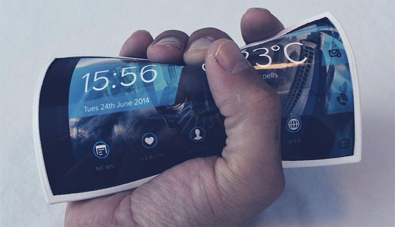 китайский гибкий смартфон фото