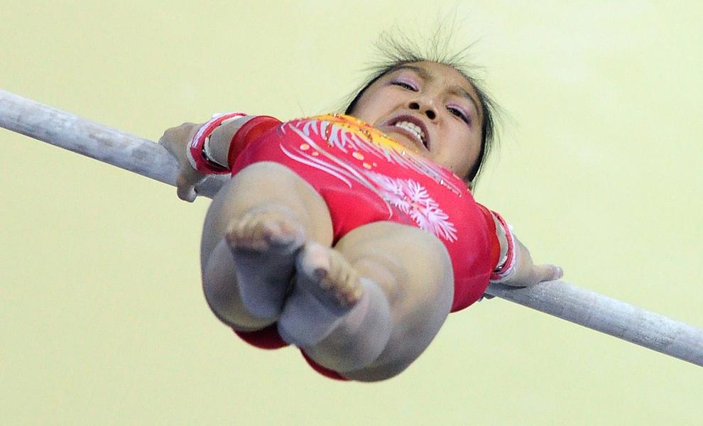 японские гимнастки фото