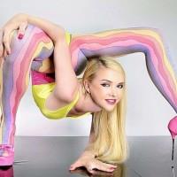 Самая гибкая девушка в мире на видео