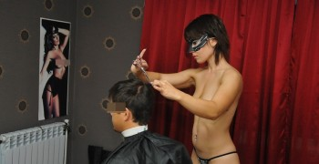 В Казани открылась  парикмахерская для взрослых